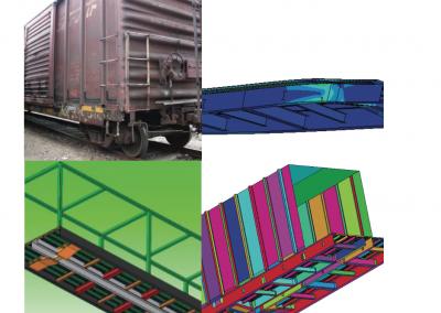 Análisis Factibilidad Estructural – Vagón